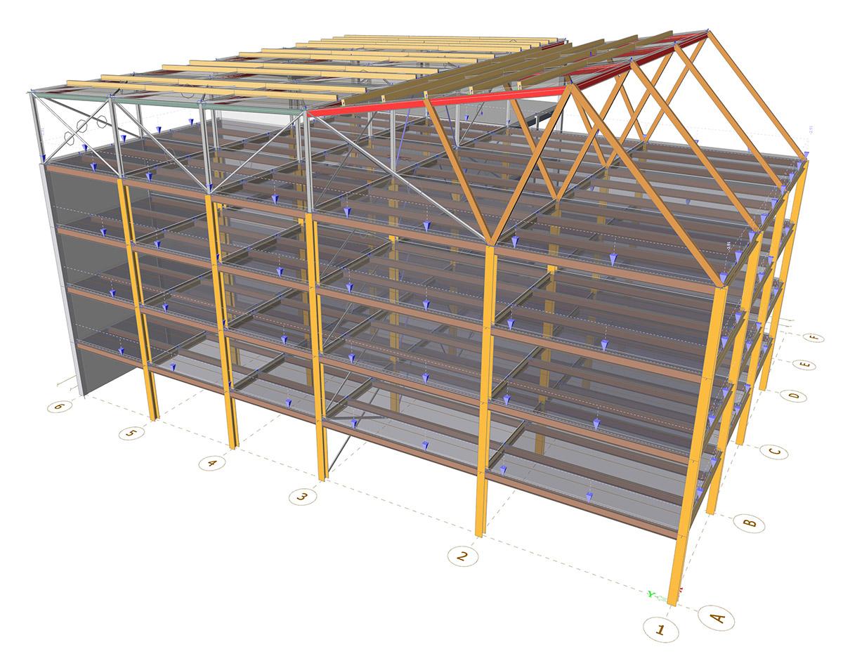 SCIA Engineer - Composite floors