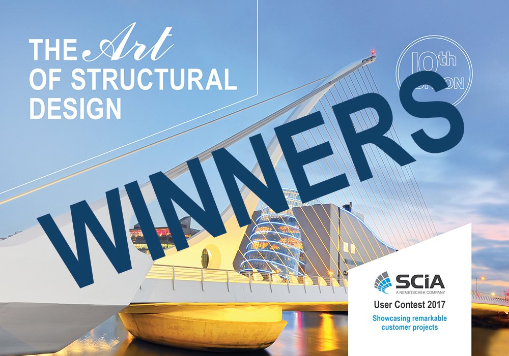 SCIA User Contest 2017 - Winners