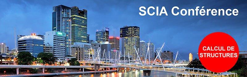 Grande Conférence SCIA  pour Ingénieurs Structures