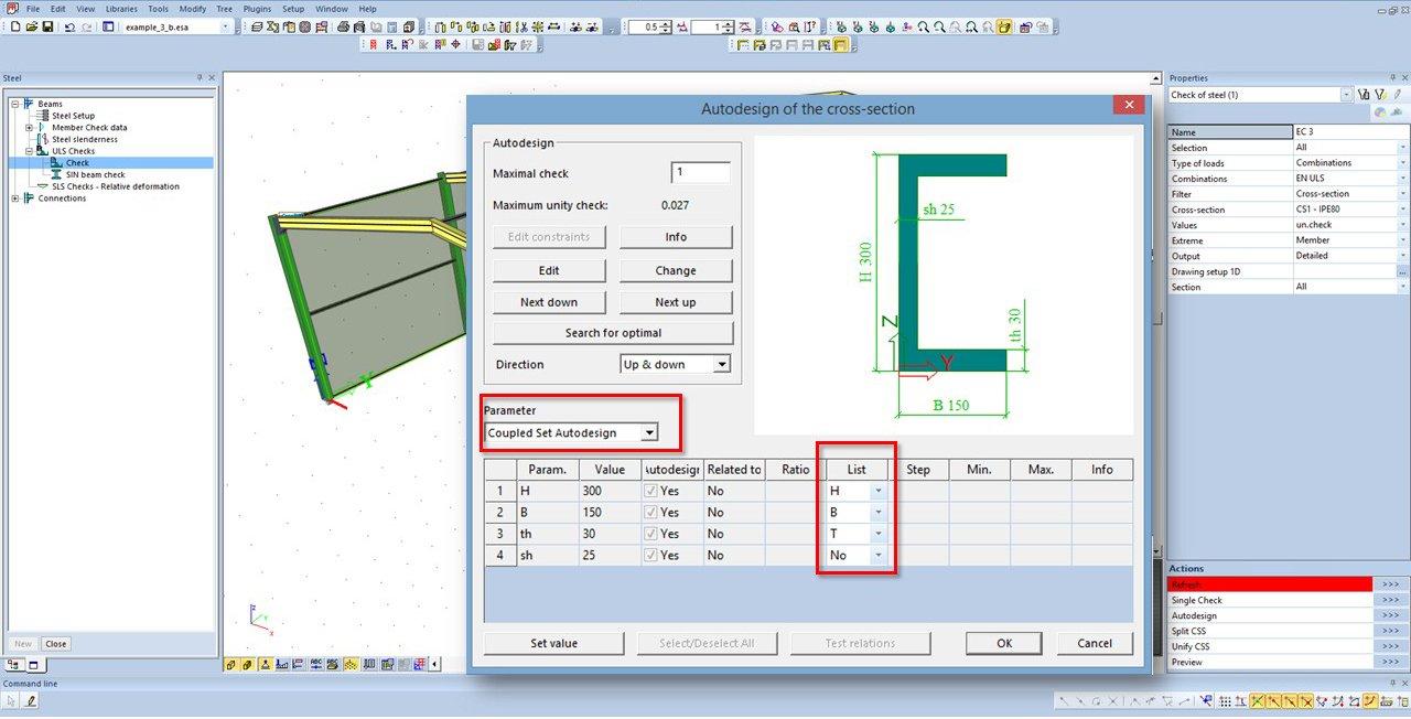 Scia Engineer 16 User Satisfaction Program Addressing Shear Force And Bending Moment Diagrams Autodesign For Custom Catalogue Based Optimisation