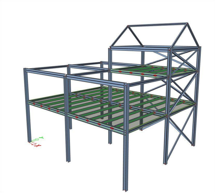 webinaire calcul de structures m talliques avec scia engineer. Black Bedroom Furniture Sets. Home Design Ideas