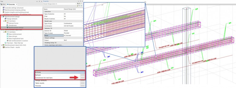 SCIA Engineer Reinforcement Design