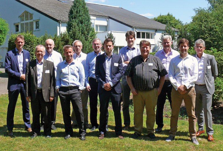 The jury of the 2015 User Contest in front of the SCIA headquarters