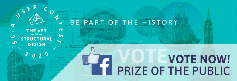 SCIA User Contest 2020 - Vote of the Public