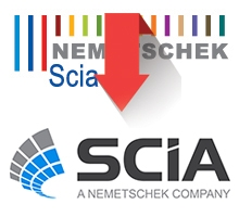 SCIA logo old & new
