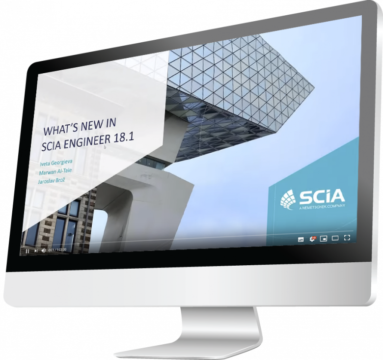 SCIA Engineer webinars