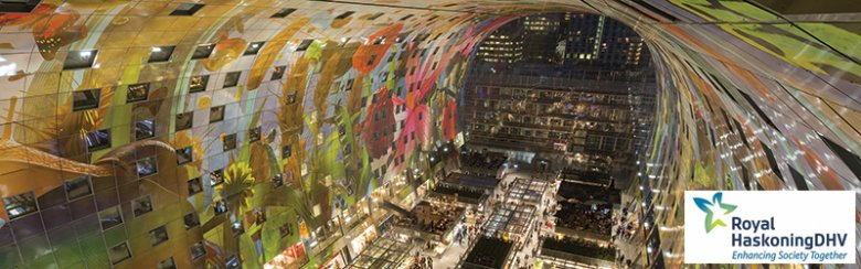 Winner Category 4: Special projects  RoyalHaskoningDHV – Markthal – Rotterdam (Netherlands)