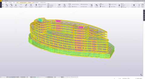 Reinforcement roundtrip with Tekla Structures