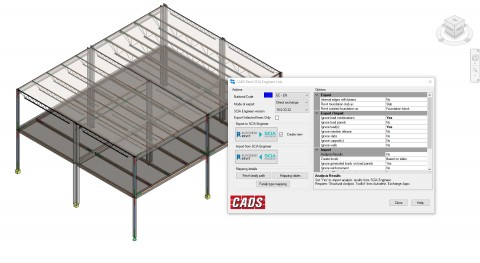 BIM Revit link dialogue
