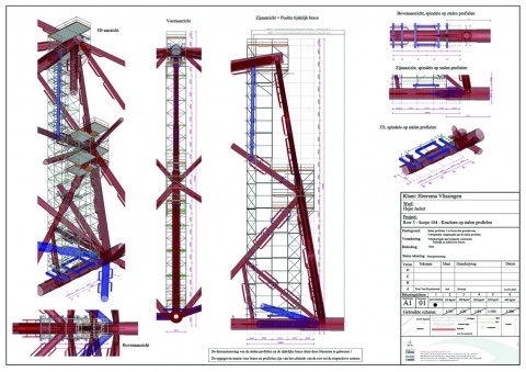 SCIA Engineer General Arrangements Drawings