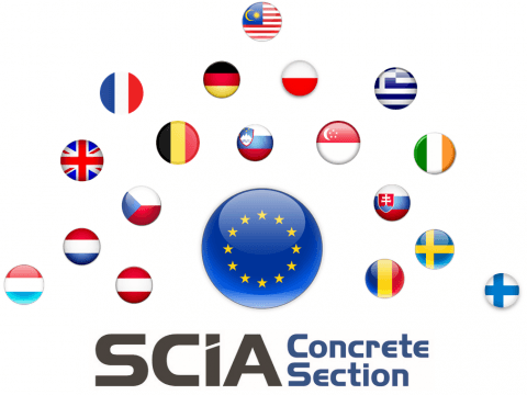 SCIA Concrete Section International Application