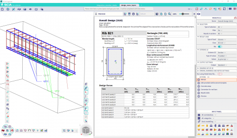 Design of reinforcement in multiple layers