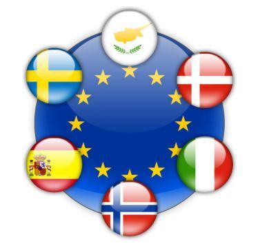 národní přílohy Norska, Švédska, Dánska, Itálie, Španělska a Kypru
