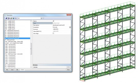 SCIA Engineer Parametric Modelling