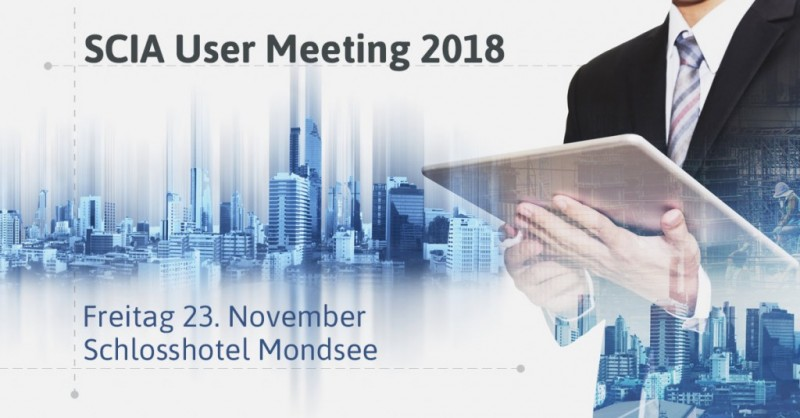 SCIA User Meeting 2018