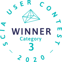 Winner SCIA User Contest 2020