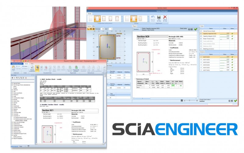 SCIA Engineer 16.1 -  Section Check