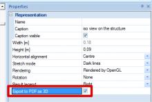 Engineering Report - 3D-pdf export option