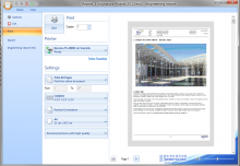 Engineering Report - print report