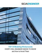 SCIA Engineer Top 10 Modeling Workarounds