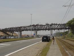 Bas - Pedestrian Bridge - Wenduine, Belgium
