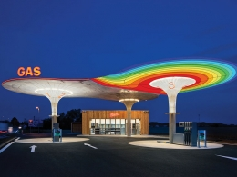 Petrol Station GAS by Visia
