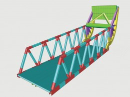 Bascule Bridge SCIA Engineer