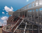 'Eurosilo' Construction of 16 New Grainsilos - Ghent, Belgium