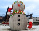 Snowman - Novosibirsk, Russia