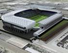 Stade national de football à Windsor Park - Belfast, Irlande du Nord