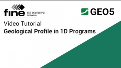 GEO5 Tutorials: Inputting the Geological Profile