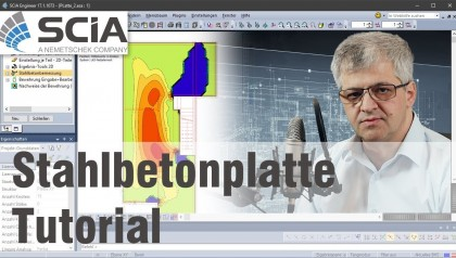 Tutorial Stahlbetonplatte in SCIA Engineer