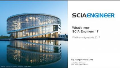 What's New no Scia Engineer 17