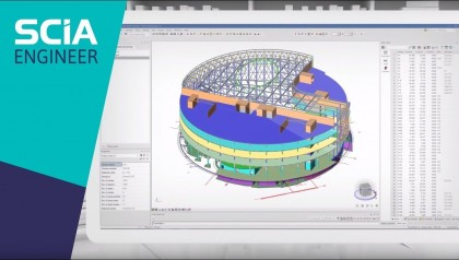 DISCOVER SCIA ENGINEER: Advanced modelling, analysis, design and reporting in one flexible program