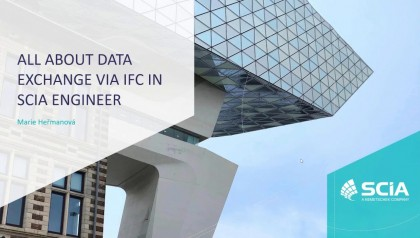 [EN] All about data exchange via IFC in SCIA Engineer