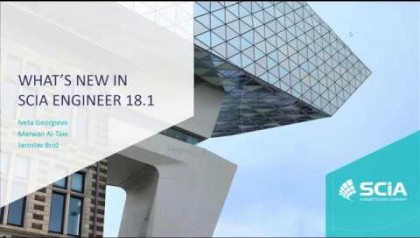 [EN] DISCOVER WHAT'S NEW IN SCIA ENGINEER 18.1