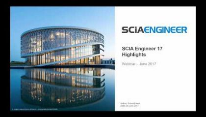 [EN] What's New in SCIA Engineer 17