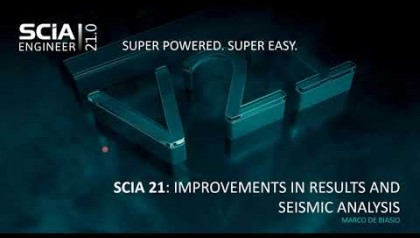 [EN] Improvements in Results and Seismic analysis in SCIA Engineer 21