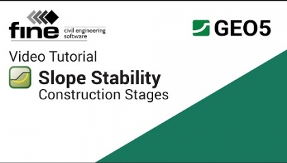GEO5 Tutorials: Construction Stages in Slope Stability