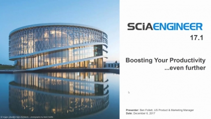 Discover What's New in SCIA Engineer 17.1