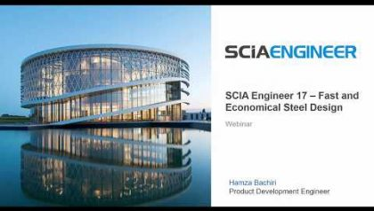 SCIA Engineer 17 Fast and Economical Steel Design