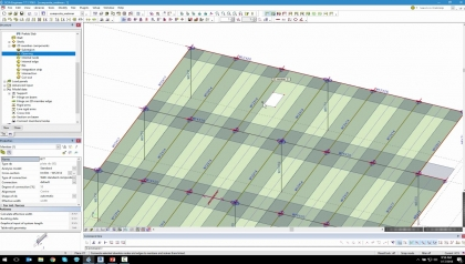 Designing Composite Slabs in SCIA Engineer