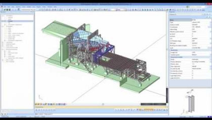 [EN] SCIA Webinar – Structural Analysis & Design of Industrial Structures